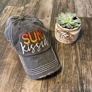Sun Kissed Distressed Hat